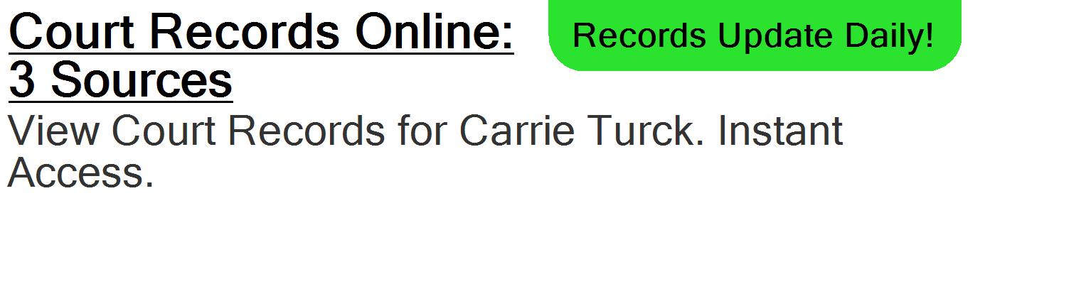 Carrie E Turck - SPRING HILL, FL - PublicDataDigger com