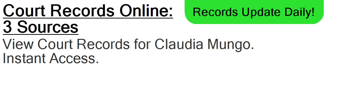 Claudia F Mungo Vero Beach Fl Publicdatadigger Com