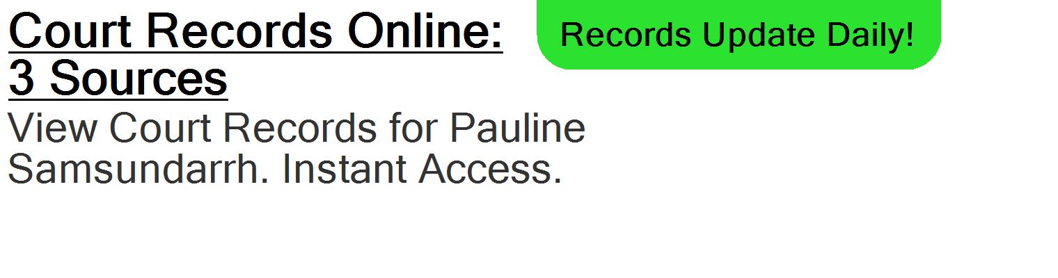 Pauline Samsundarrh - Riverview, FL - PublicDataDigger com